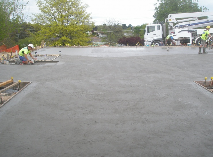 Dudley Private Hospital Slab Pour