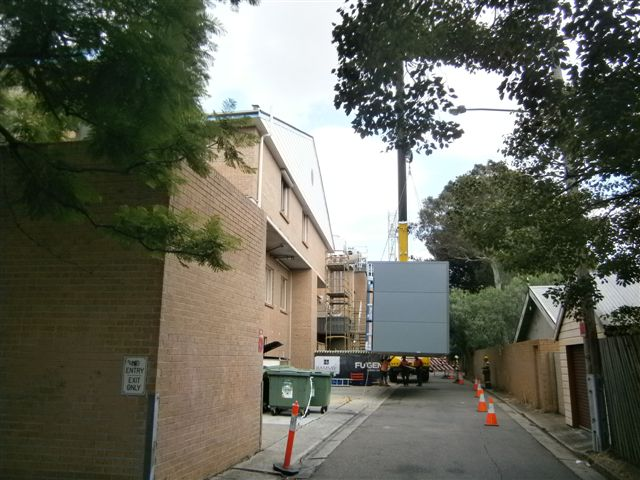 Strathfield Private Hospital Sterile Stockroom under Construction